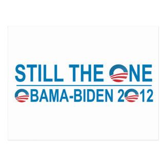 STILL THE ONE - OBAMA - BIDEN 2012 POSTCARD