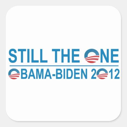 STILL THE ONE - OBAMA - BIDEN 2012 STICKERS