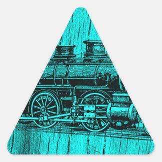 Still training triangle sticker