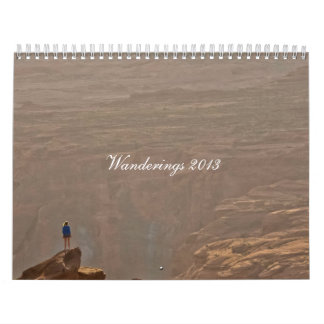 Still Wandering 2013 Calendar