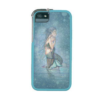 Still Waters Mermaid and Baby Fantasy Art Cover For iPhone 5