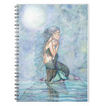Still Waters Mermaid Mother and Infant Baby Shower Notebook