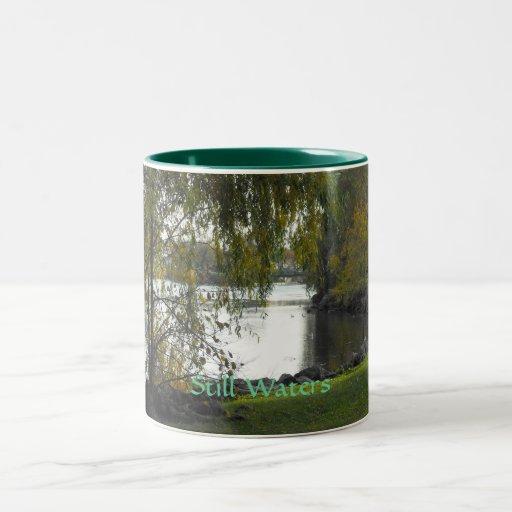 Still Waters Two-Tone Coffee Mug
