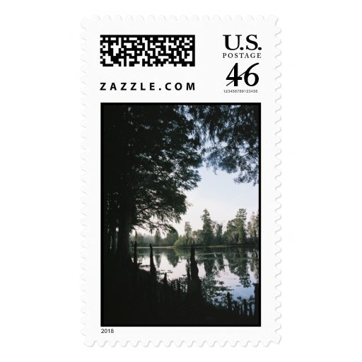Still Waters -- Vertical Postage Stamps