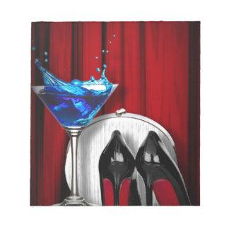stilletos femeninos de martini de la moda de lujo blocs