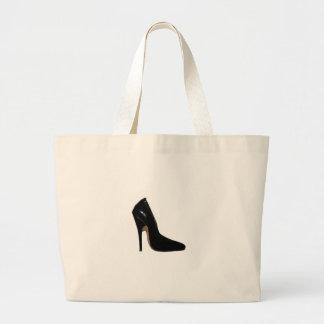 Stilletto Heel Right Side Black The MUSEUM Zazzle Bags