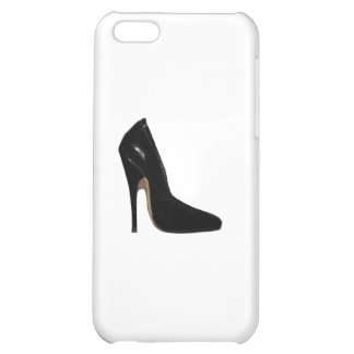 Stilletto Heel Right Side Black The MUSEUM Zazzle iPhone 5C Cover