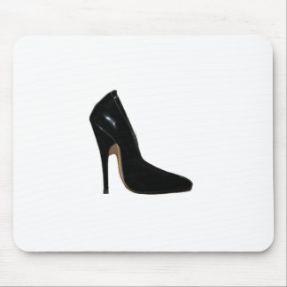 Stilletto Heel Right Side Black The MUSEUM Zazzle Mouse Pad