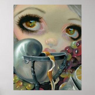 Stilleven IV:  Nautilusbeker ART PRINT Pop Surreal