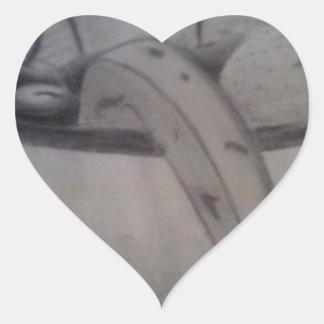 stilllife heart sticker