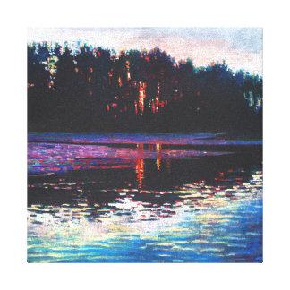 Stillness in the midst 2013 canvas print