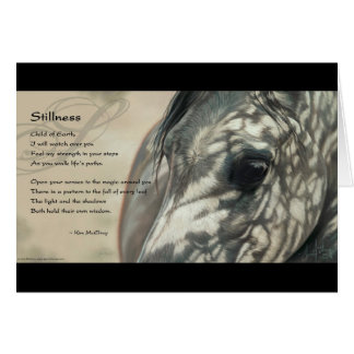 Stillness Inspiration Greeting Card