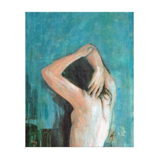 Stillness Is The Move Canvas Print