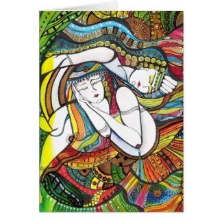 Stillness Romantic Couple Card
