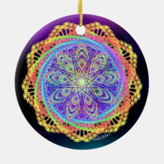 Stillness to Unity Ceramic Ornament