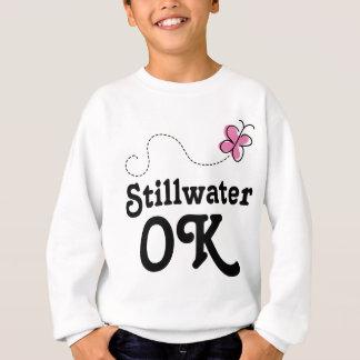 Stillwater Oklahoma Pink Butterfly Sweatshirt