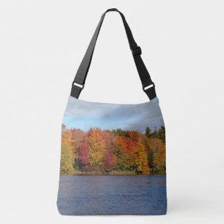 Stillwater River Autumn Landscape 2015 Crossbody Bag
