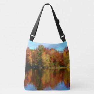 Stillwater River Autumn Landscape 2015 III Crossbody Bag
