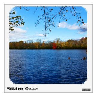 Stillwater River Autumn Scenery 2015 II Wall Decal
