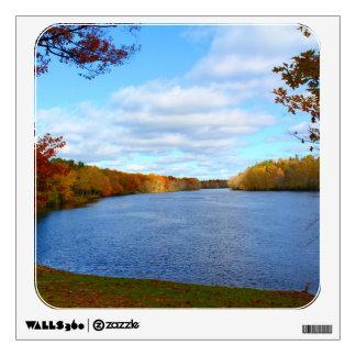 Stillwater River Autumn Scenery 2015 Wall Sticker