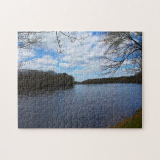 Stillwater River in Orono, Maine Jigsaw Puzzle