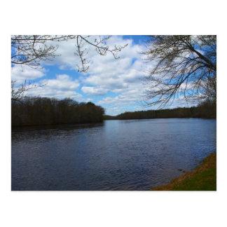 Stillwater River in Orono, Maine Postcard