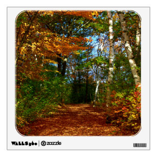 Stillwater River Trail Autumn Scenery 2015 Wall Decal