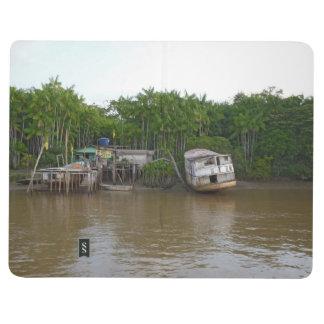 Stilt houses on Amazon river Journal