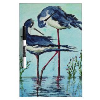 Stilts Bathing - Painting Dry-Erase Board