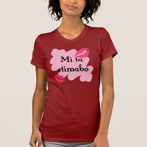 Stimabo del MI TA - Papiamento te amo Camisetas