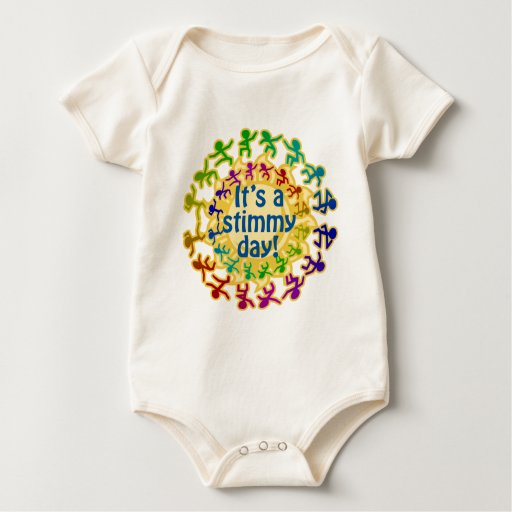 Stimmy Day Baby Bodysuits