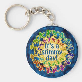 Stimmy Day Keychain