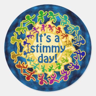 Stimmy Day Stickers