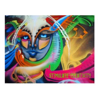 Stimulate Creativity Postcard