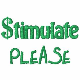 Stimulate Please, Economic Stimulus Bill Package Hoody