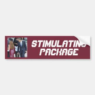 Stimulating Package Bumper Sticker