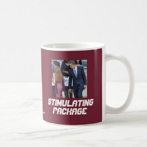 Stimulating Package Classic White Coffee Mug