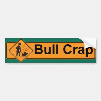 Stimulus - Bull Crap Bumper Stickers