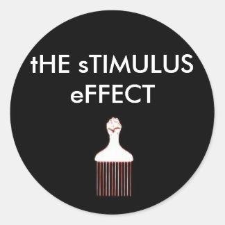 STIMULUS EFCT1 CLASSIC ROUND STICKER