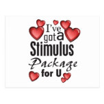 Stimulus Package for U Post Card