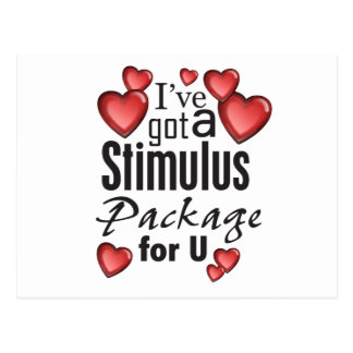 Stimulus Package for U Postcard