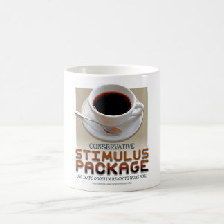 Stimulus Package Classic White Coffee Mug