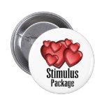 Stimulus Package Pinback Button