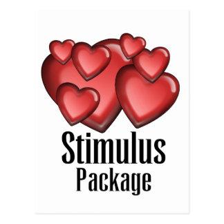 Stimulus Package Postcard