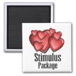 Stimulus Package Refrigerator Magnet
