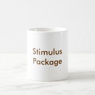 StimulusPackage Classic White Coffee Mug