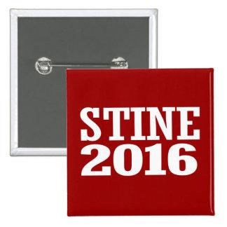 Stine - Kevin Stine 2016 2 Inch Square Button
