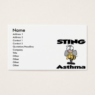 STING Asthma Business Card