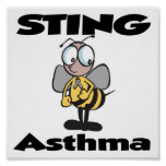 STING Asthma Posters