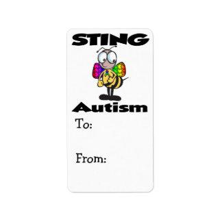 STING Autism Label